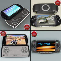 Portable Game Consoles Collection