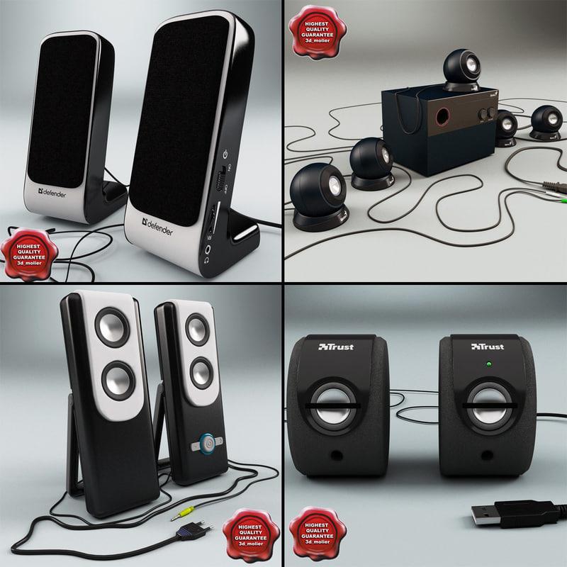 3d 3ds usb speakers