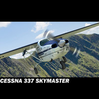 Cessna 337 Airplane