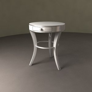 mino night table 3d 3ds