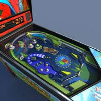 Pinball machine #01