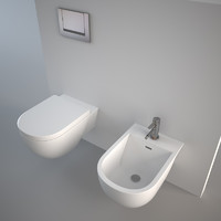 Antonio Lupi sella bidet and toilet