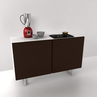 3d sideboard seattle cs 6004-i model