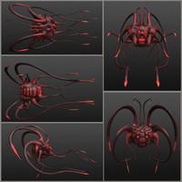 creature 3d model