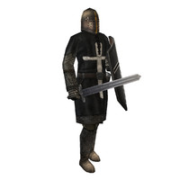 historically knight games 3d model