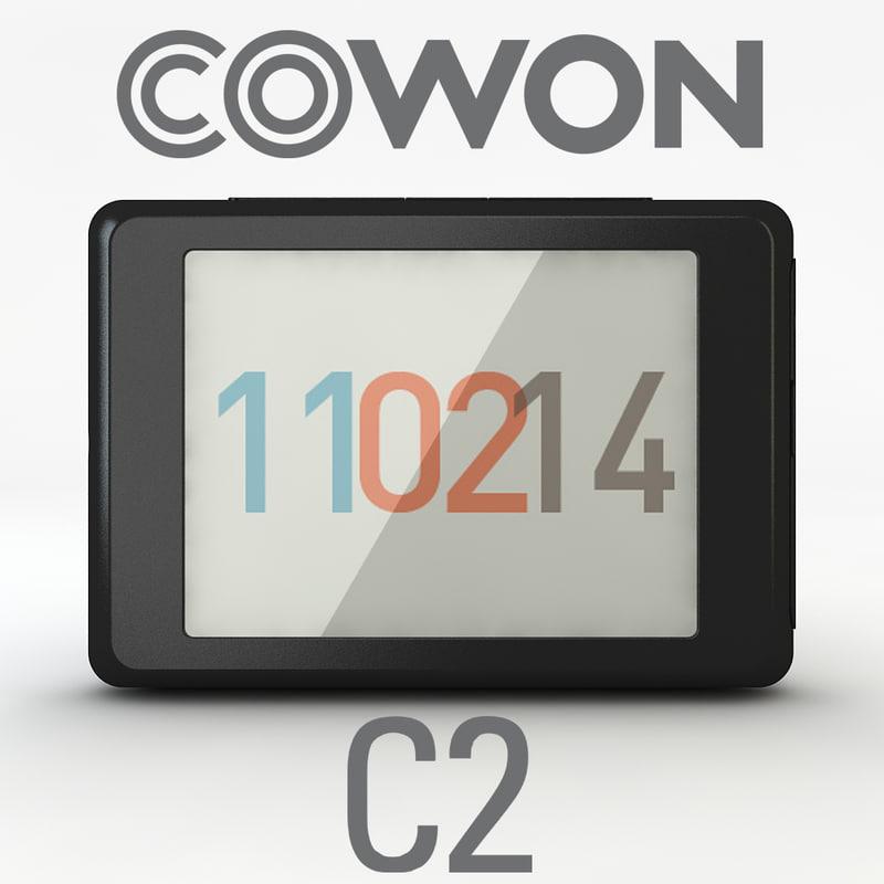 3ds max cowon c2