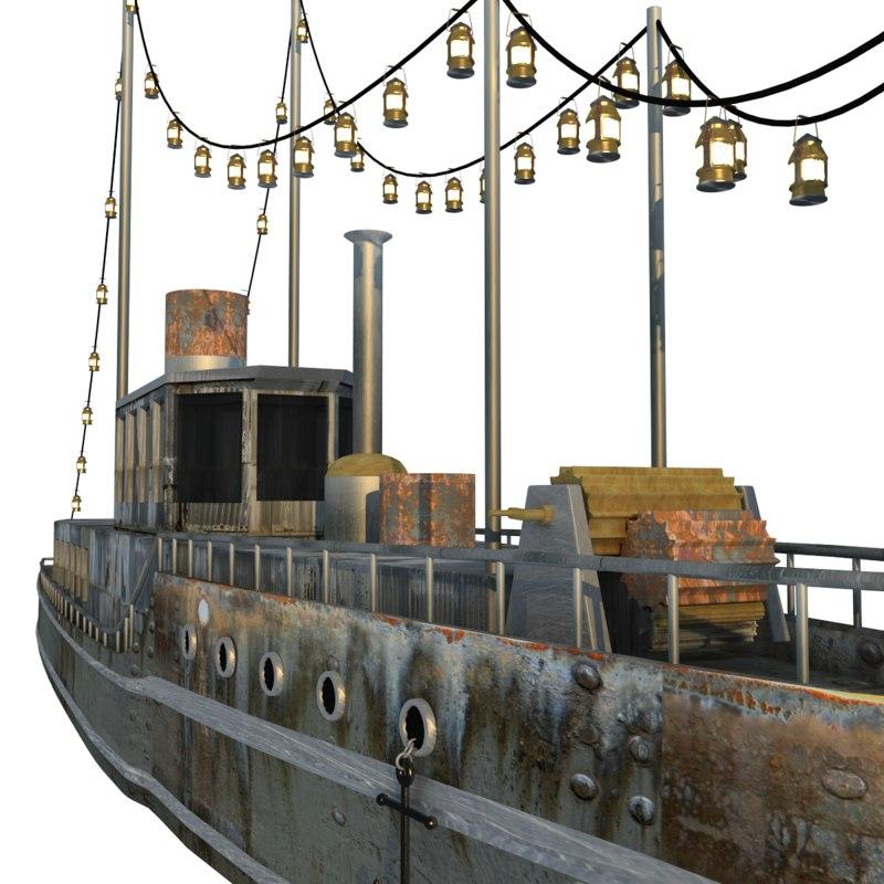 maya steamboat water