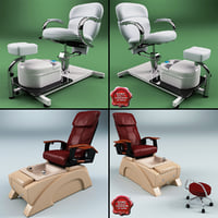 3d pedicure chairs