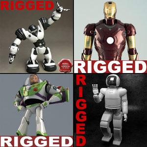 3ds max robots v2