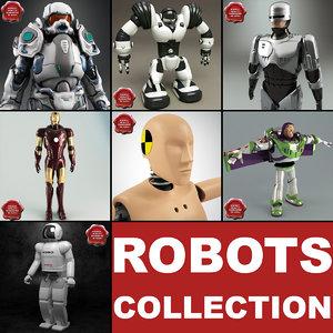 3d model robots v4