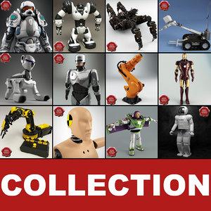 3d robots v5 model