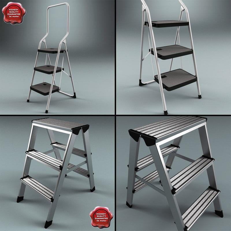 lightwave step ladders