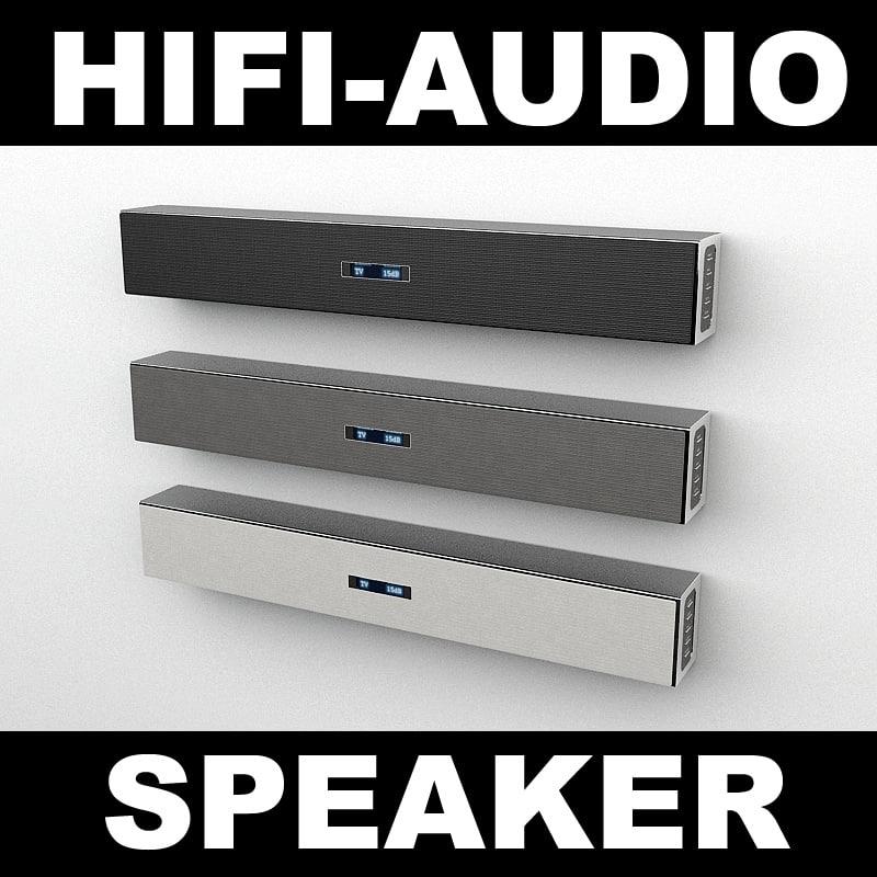speaker 3d max