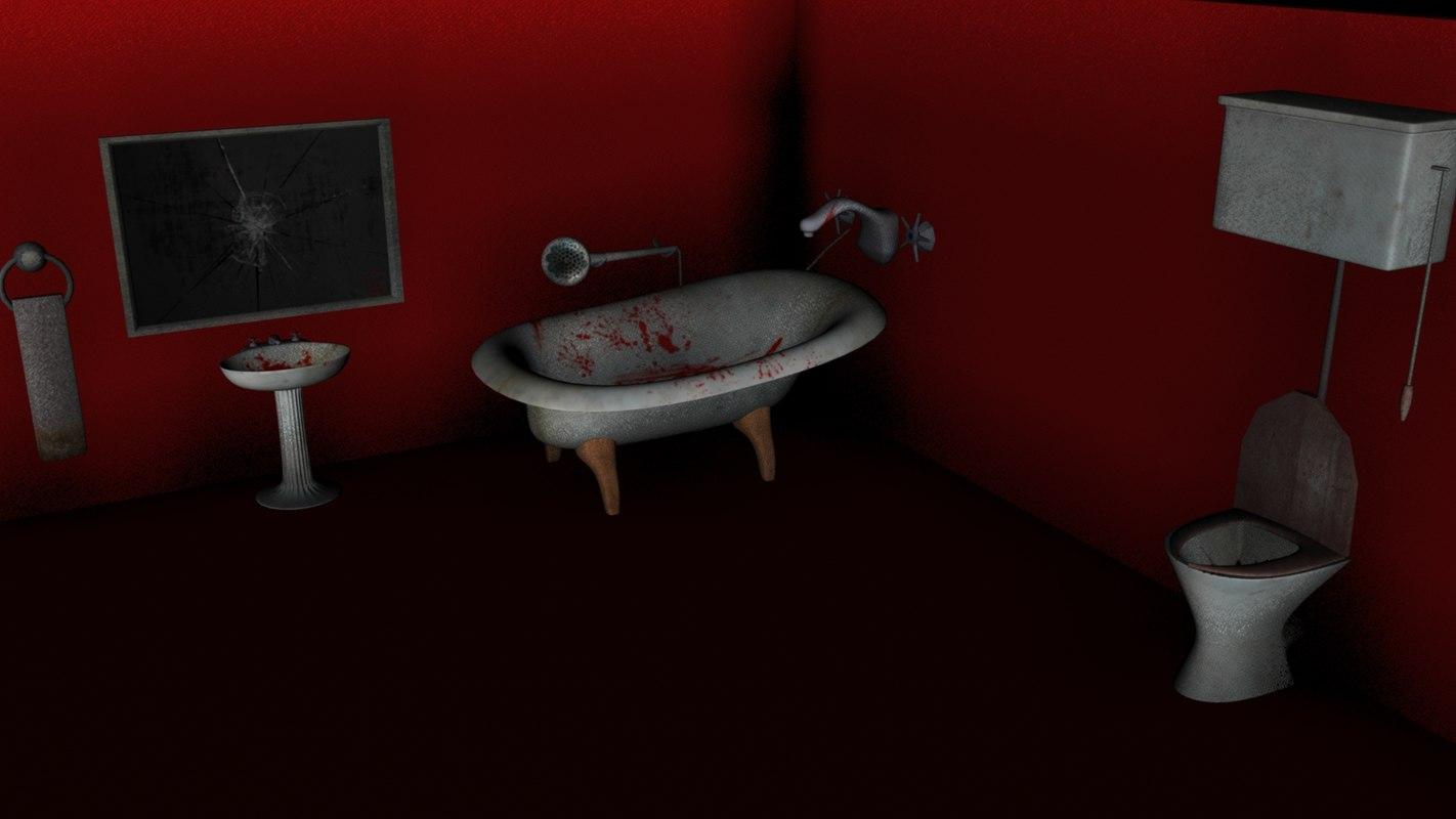 pack bath 3d model