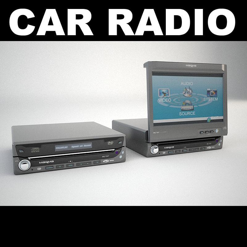 car radio max