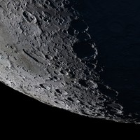 Moon. Extremely detailed and realistic.