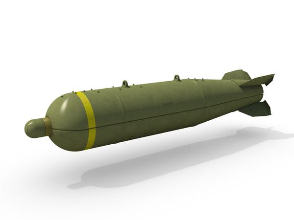 cluster bomb 3d max