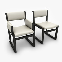 designed chairs 3d max