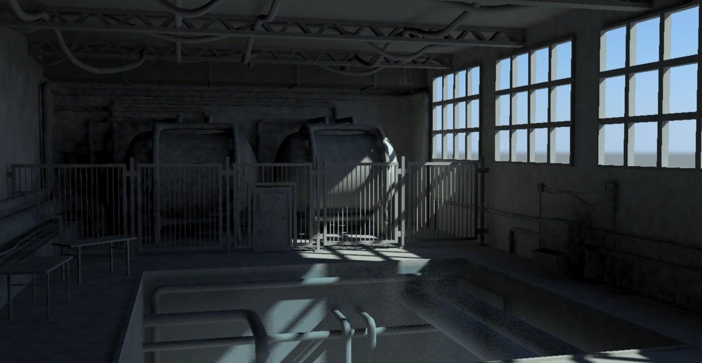 factory interior obj