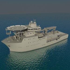 3d multipurpose support vessel