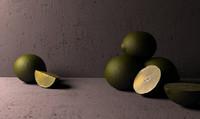 lime szene 3d model