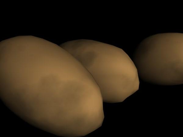 free potatoes p 3d model