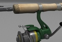 rod with reel