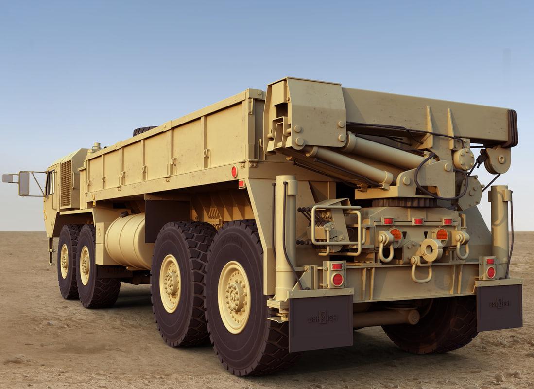 hemtt cargo truck 3d model