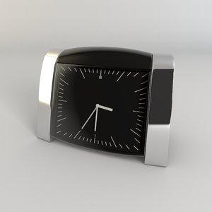 design alarm clock 3d obj