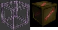 box fragile 3d x