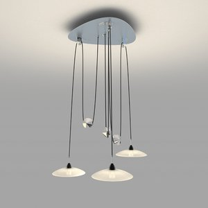 ceiling lamp 3d obj