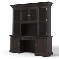 display cabinet cupboard 3d model