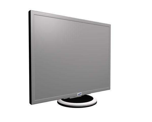 3ds max basic samsung monitor