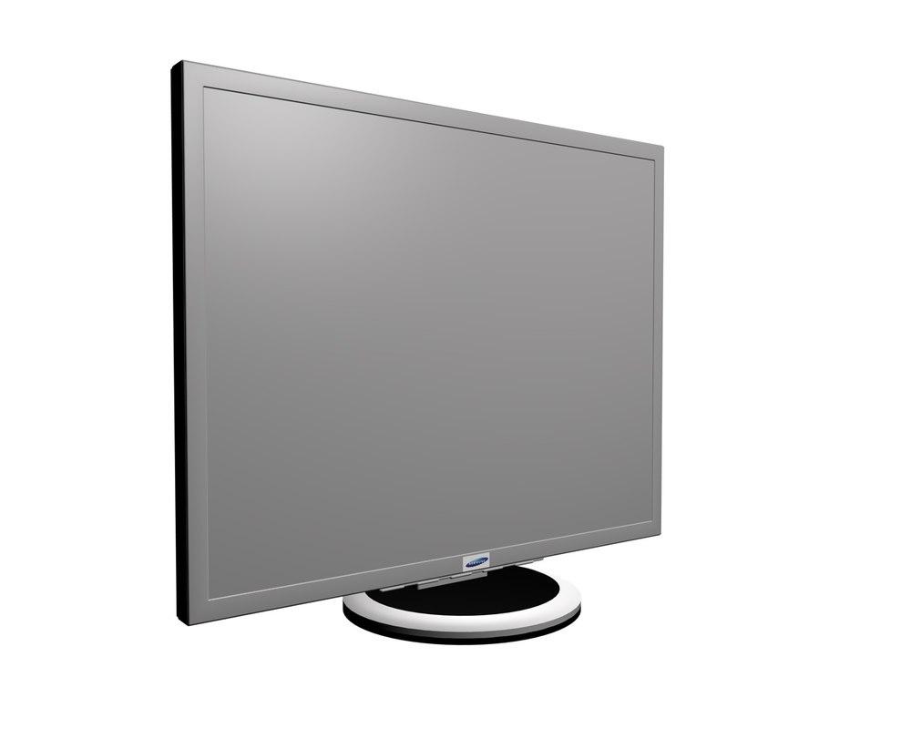 3ds max basic samsung monitor