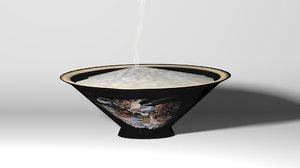 maya oriental rice bowl lo