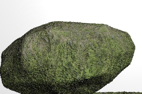 free rock wall 3d model