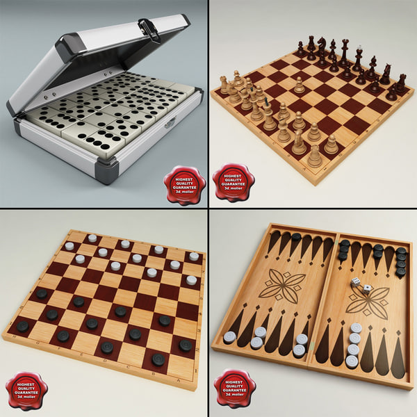 3d model of table games
