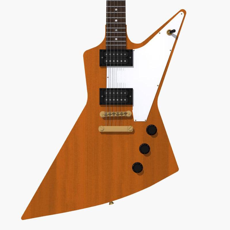 max gibson explorer guitar