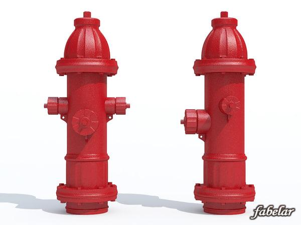 3ds max hydrant photorealistic