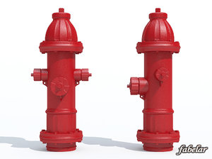 3ds max hydrant photorealistic