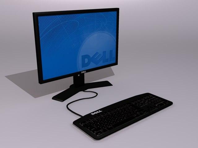 dell computer 3d max