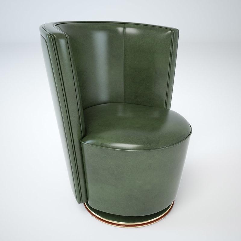 mascheroni ypsilon chair 3d max
