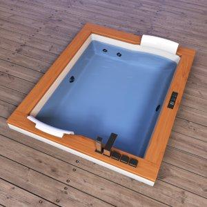 aura jacuzzi 3d model