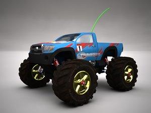3d model rc truck