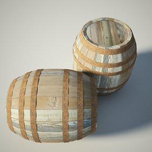 max wooden barrel