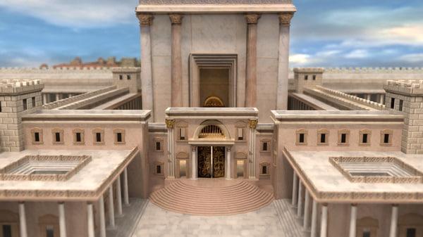 temple solomon city 3d lwo