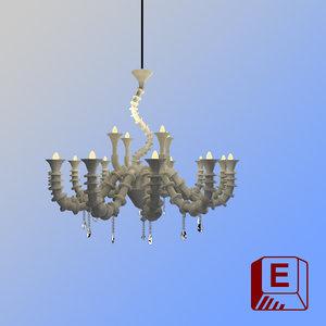 chandelier firolia eurofase light max