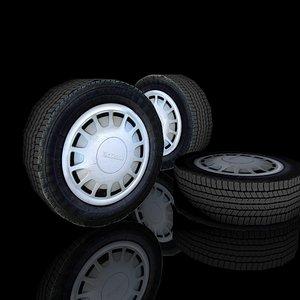 3d wheel yokohama model