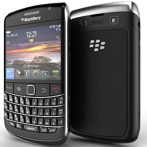 blackberry bold 9780 3d model