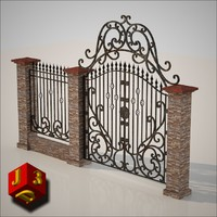 Old ornamental gate - 1